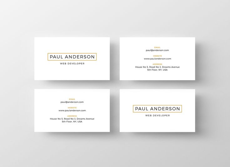 Gallery of Free Business Card Templates for Architects - 8