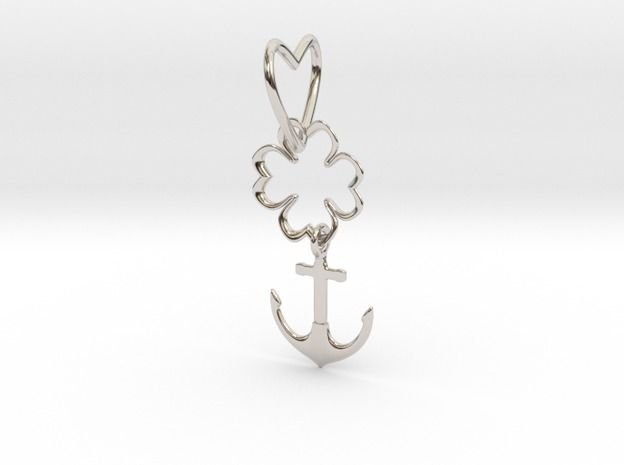 This is a version of charms within Shapeways pilot for interlocking parts  LoveFortuneHope by Esperi