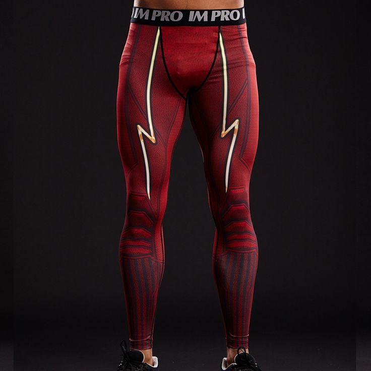 Flash 3D Men's Compression Tights