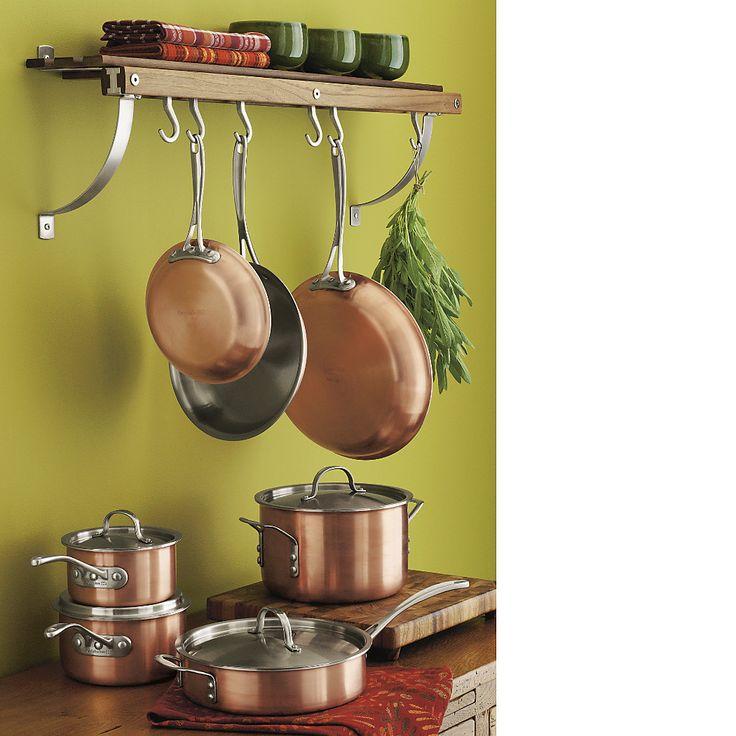 Calphalon triply copper 10piece cookware set reviews