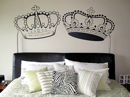 King and Queen. Needs to be classier but I like the concept
