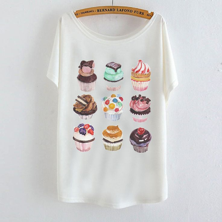 Item Type: Tops Tops Type: Tees Gender: Women Decoration: None Clothing Length: Regular Sleeve Style: Batwing Sleeve Pattern Type: Print Brand Name: New Style: Fashion Fabric Type: Broadcloth Material