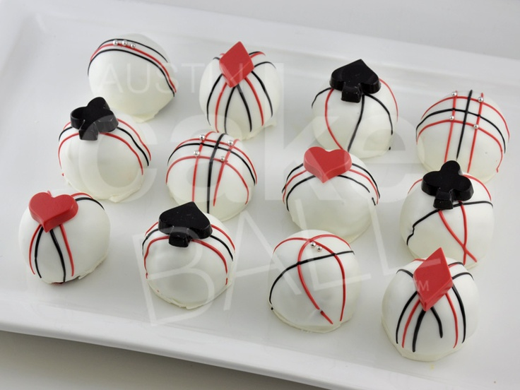 Cake Pops... serve like this on the mirrored tower or add sticks & put on a sucker tree.