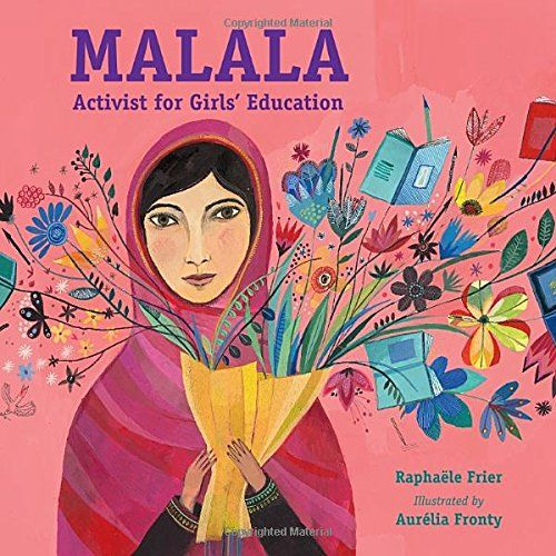 Malala: Activist for Girls' Education   MAIN Juvenile LC2330 .F7513 2017 check availability @ https://library.ashland.edu/search/i?SEARCH=9781580897853