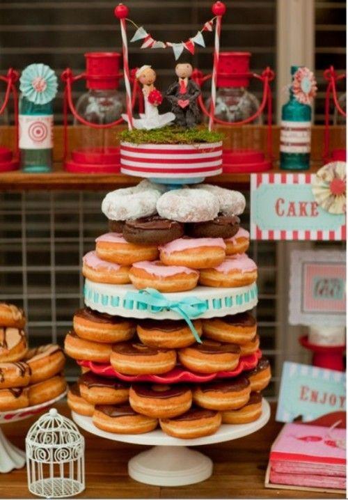 25 Cheap And Cool Wedding Cake Alternatives | Weddingomania: