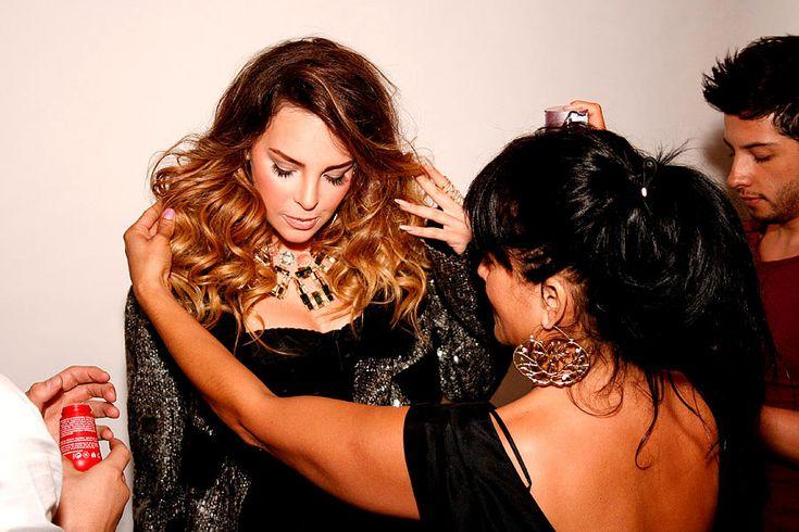 El backstage de nuestra portada con Belinda @Belinda Chang Peregrin