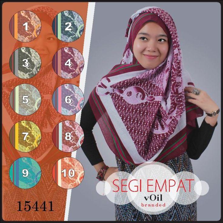 Hijab Segi Empat Terbaru Motif Branded Voil 15441