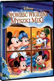 Opowieść wigilijna Myszki Miki-Mattinson Burny