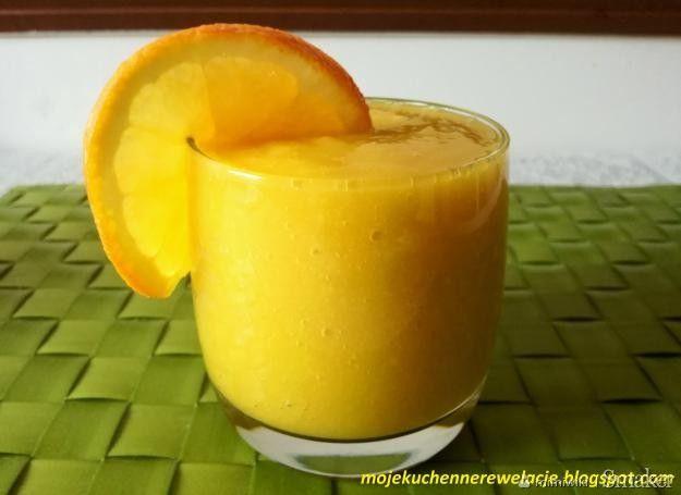 Odchudzający koktajl z mango i pomarańczy - Przepis - Smaker.pl