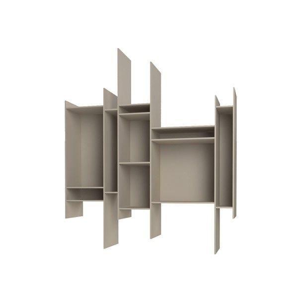 De MDF Italia Randomito kast is ontworpen door Neuland Industriedesign. De kast is gemaakt van gelakt houtvezelplaat, de achterkant bestaat uit hout gecoat met melamine (kunsthars). De kast is verkrijgbaar in de kleuren wit, zand, oranje en groen 625,-