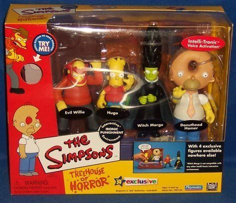 The Simpsons Treehouse of Horrors Ironic Punishment by Playmates @ niftywarehouse.com #NiftyWarehouse #TV #Shows #TheSimpsons #Simpsons