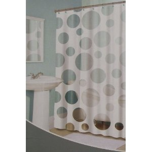 splash home white transparent polka dot peek a boo