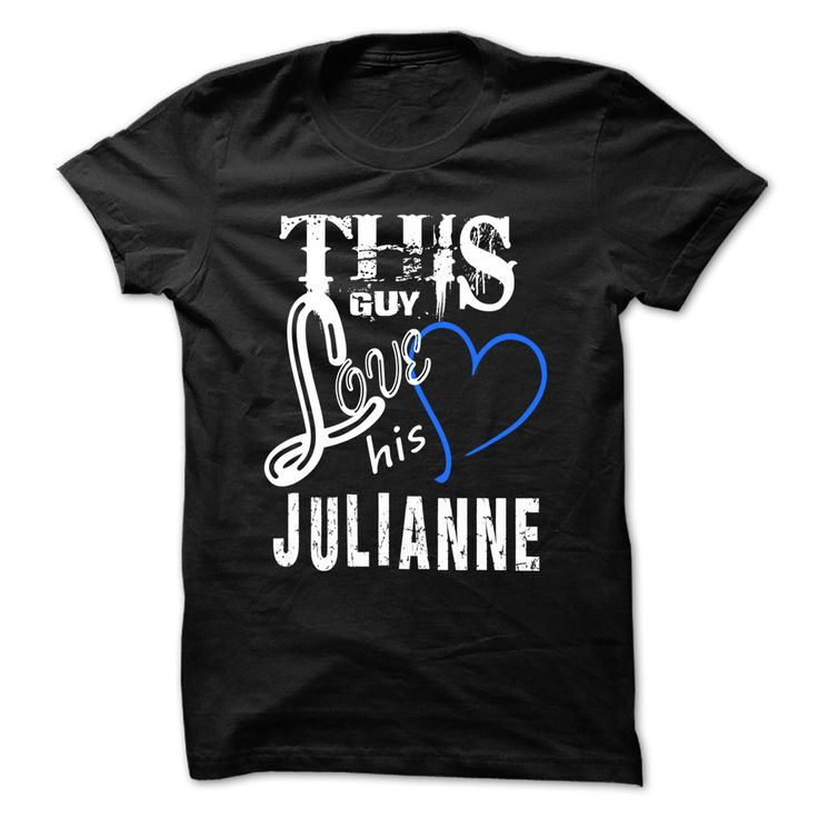 This Girl Love ₩ Julianne - Cool T-Shirt !!!If you are Julianne or loves one. Then this shirt is for you. Cheers !!!xxxJulianne Julianne