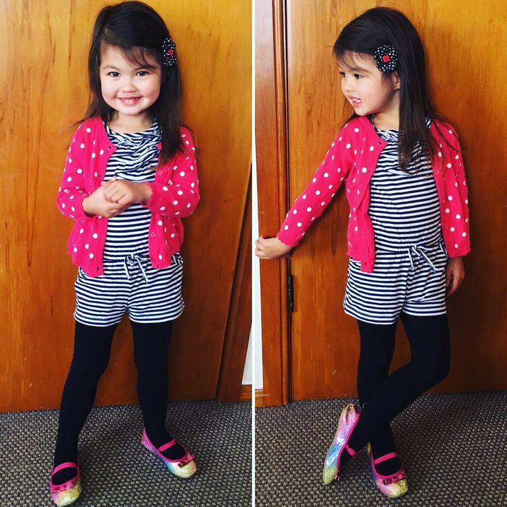 My stylish little girl. I'm one proud mama