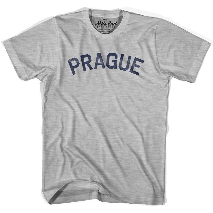 Prague City Vintage T-shirt