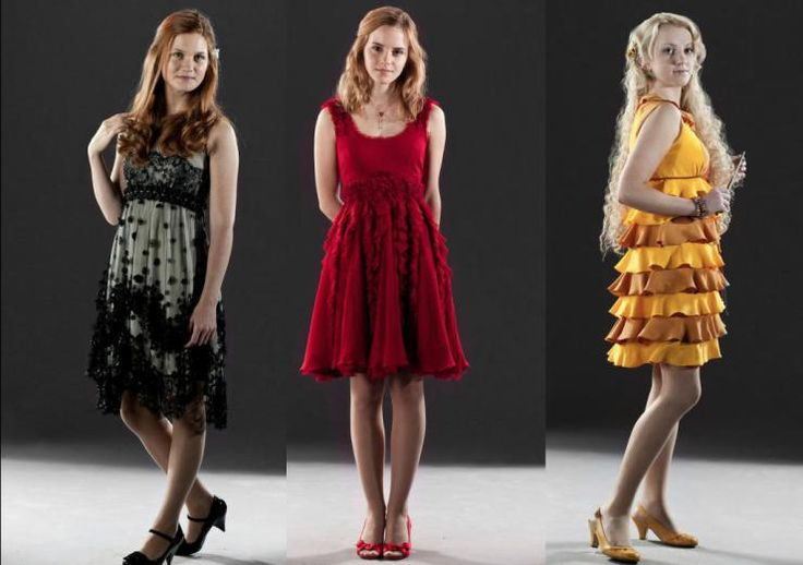 hermione granger ginny weasley Luna Lovegood. These are the girls that I LOVE in the movie