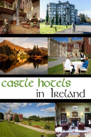 Magical Castle Hotels in Ireland