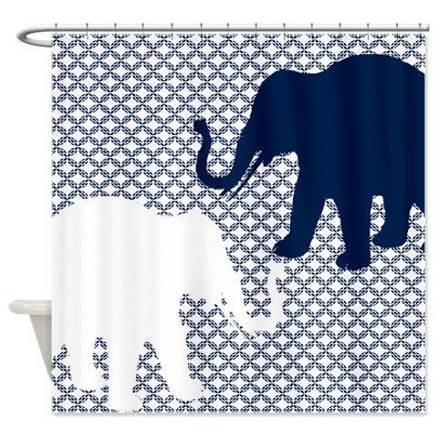 Best 25 Navy Shower Curtains Ideas On Pinterest Best Shower