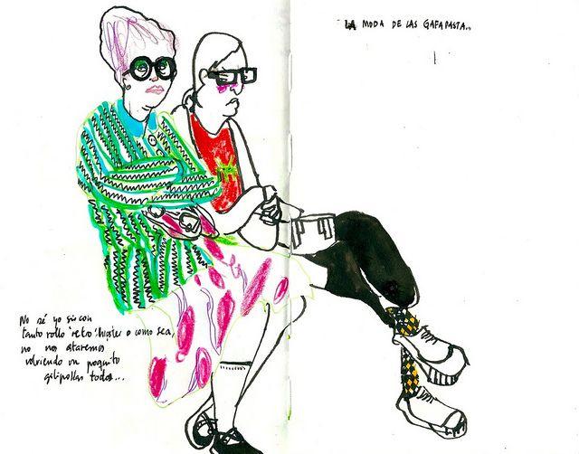 La moda de las gafapasta... by inmaserranito