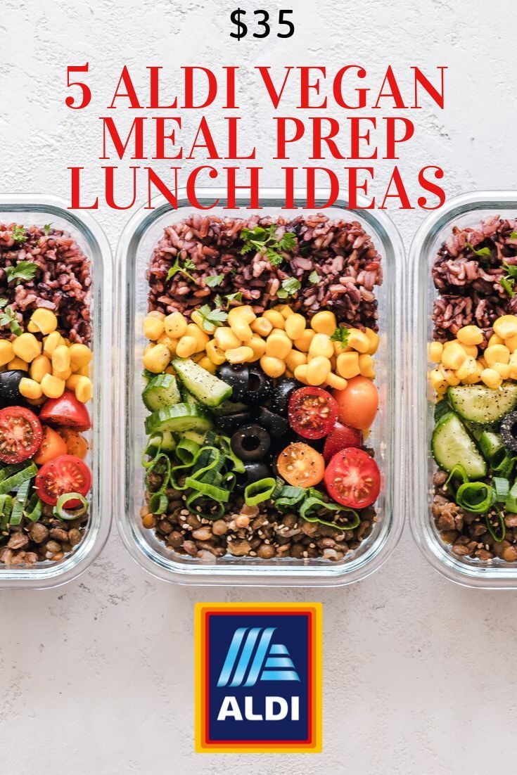 Are You Looking For Vegan Meal Prep Tips Recipes Click The Link To Watch Me Go To Shop At Aldi And Make A F Easy Vegan Lunch Vegan Lunches Cheap