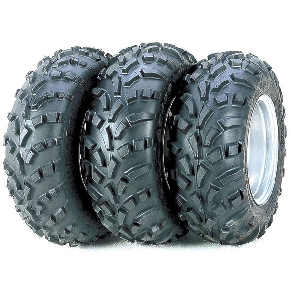 Rear tires... Discount UTV Tires ATV Tires and Wheels - CARLISLE AT489 25X10X12, $87.99 (http://www.discountutvtires.com/CARLISLE-AT489-25x10x12-ATV-TIRES-UTV-TIRES/)  Suggested for our ATV