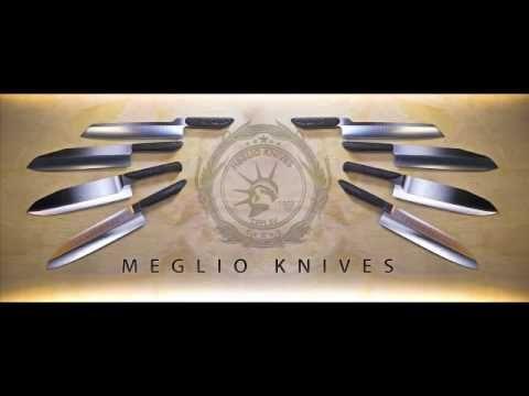 ▶ Best Kitchen Knives - Kitchen Utensils - Chef Knives Reviews - Meglio Knives - YouTube