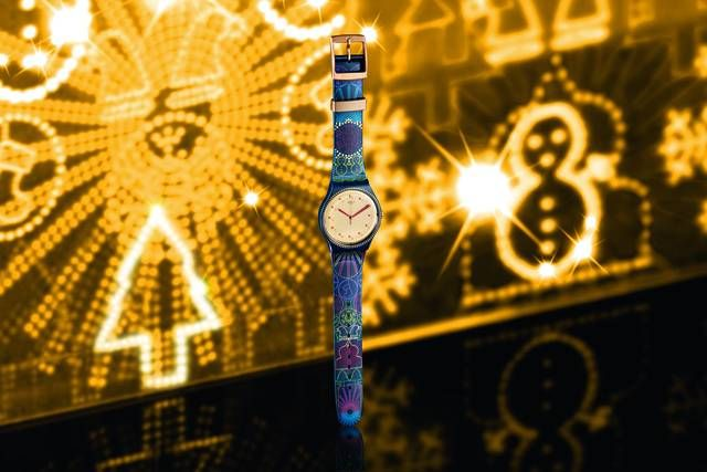 #Swatch sees stars and lights up for #holiday season