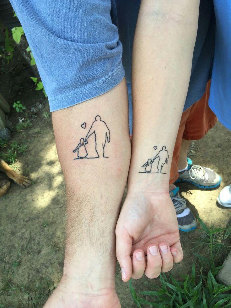 dad daughter tattoo ideas