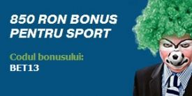 Pentru a celebra startul noului sezon de fotbal, Bet-at-Home vine in sprijinul pariorilor oferind un nou bonus, 50% pana la 850 RON.  http://www.kalibet.ro/pariuri-sportive/bonusuri-si-promotii/noul-bonus-bet-at-home-50-pana-la-850-ron.html