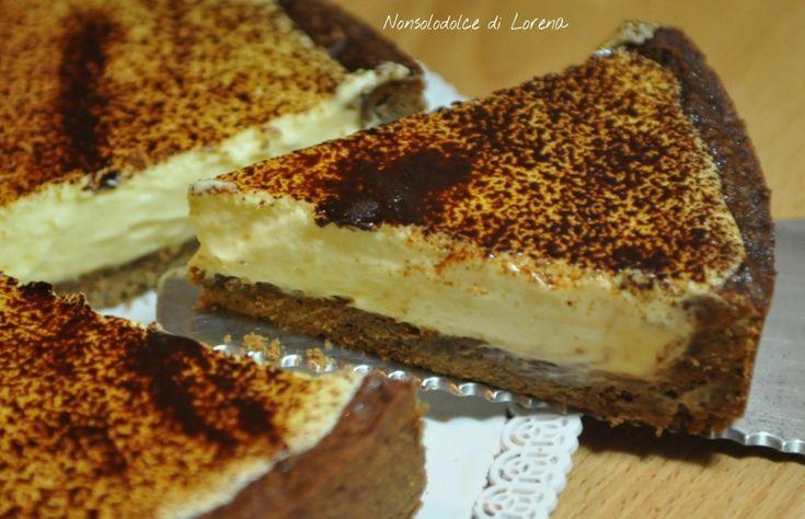 Crostata al caffè e cioccolato bianco
