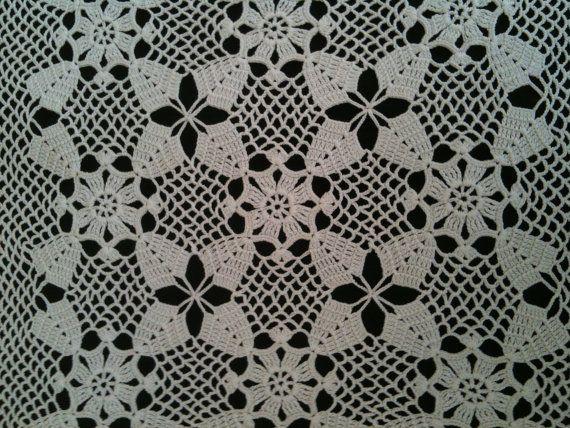 Handmade Crochet Lace Doily
