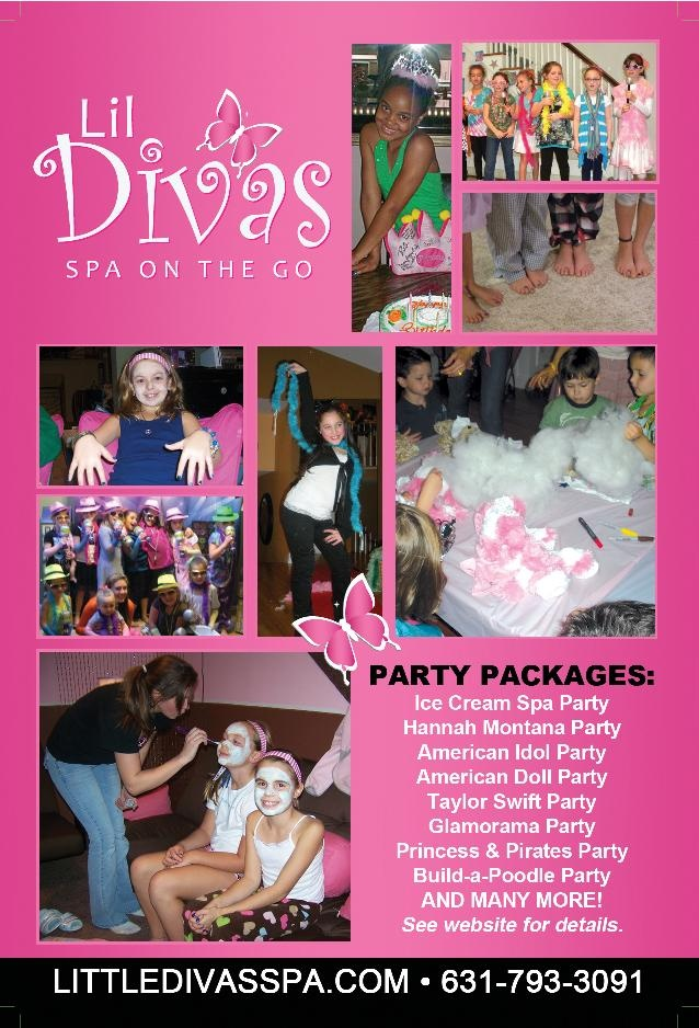 Lil diva 39 s spa on the go mobile spa party for long island suffolk and nassau counties http - Diva salon and spa ...