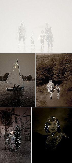 Dare alla Luce series by the artist Amy Friend via designvagabond