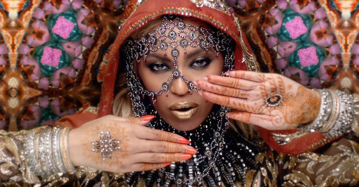Coldplay's 'Hymn for the Weekend' features Beyoncé posing in Indian garb amidst exotic imagery of India, and is being accused of cultural appropriation.