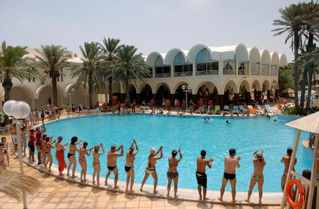 Danse du midi au Club Marmara Dar Jerba 3* #voyage #vacances #Tunisie