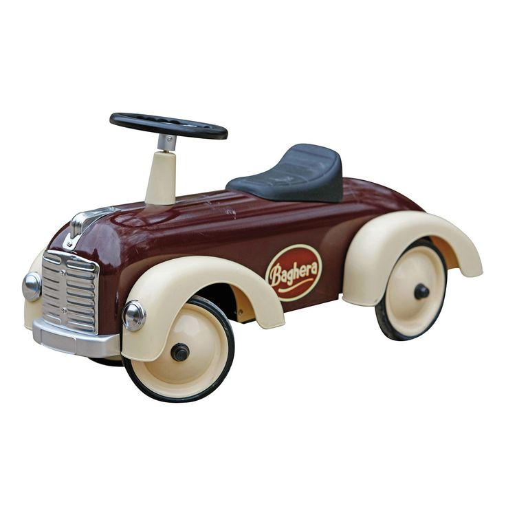 Baghera - Speedster Kinderauto, chocolate