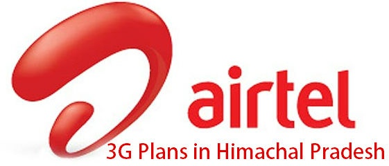 Airtel 3G Plans in Himachal Pradesh for Prepaid users