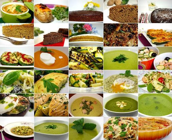 30 zucchini recipes / 30 receitas de courgette