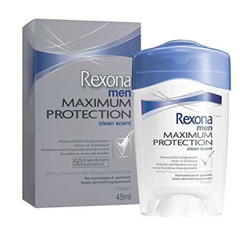 Rexona – Déodorant Homme Stick Clean Scent Maximum Protection – 45 ml: Brand New 2x plus efficace(1) que l'anti-transpirant n°1 du…
