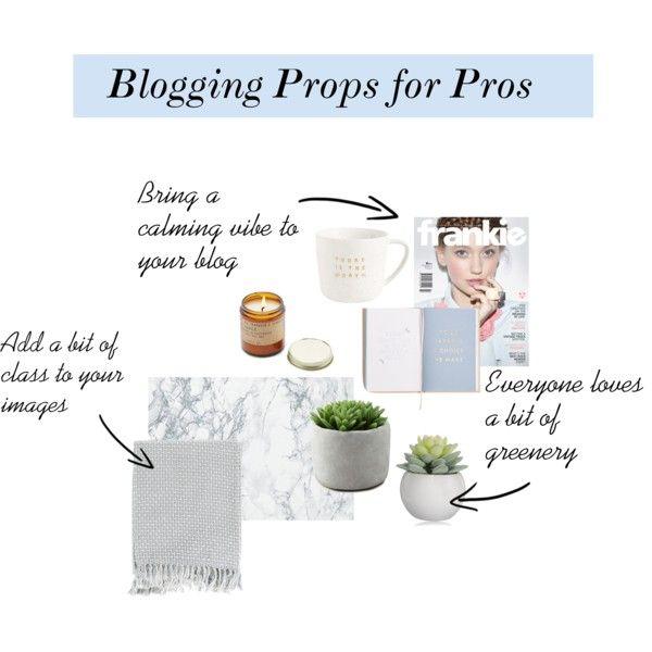 Blogging Props for Pros www.teatimewithnaomi.com
