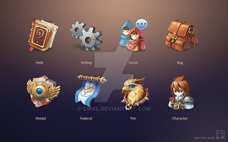Game Icon Design by cwxl.deviantart.com on @DeviantArt