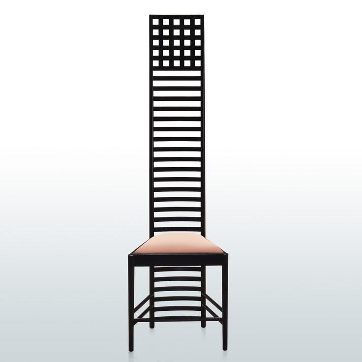 Charles Rennie Mackintosh, Hill House Chair