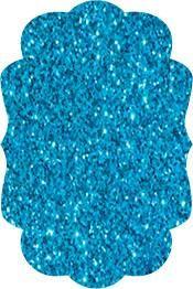 "Siser Glitter Aqua heat transfer vinyl 12"" x 20"" sheet"