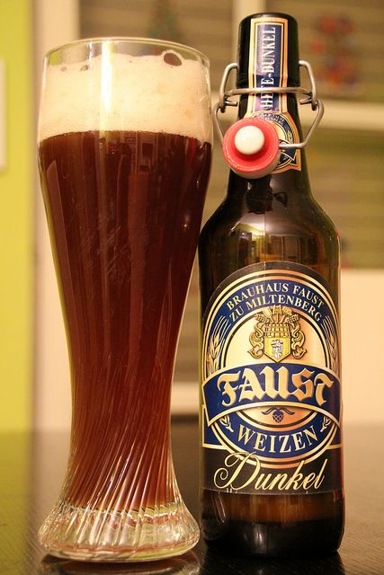 Faust Bier - Weizen dunkel - beer