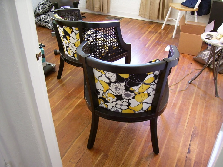 This Is Exactly The Type Of Chair I Want To Redo For The Craft Room,