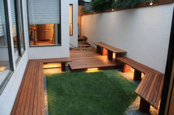 10 Inspiring Design Ideas For Tiny Backyards