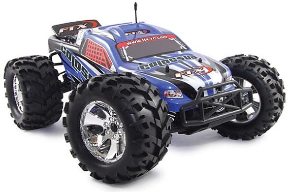 FTX Colossus 1/8th Brushless LiPo Powered Truck - Red (FTX5545)