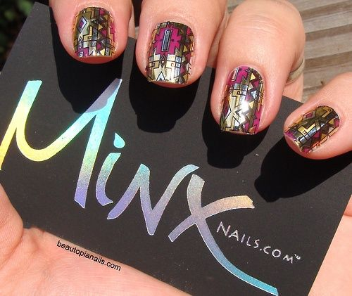 10 best Minx Nails ♡ images on Pinterest | Minx nails, Nail polish ...