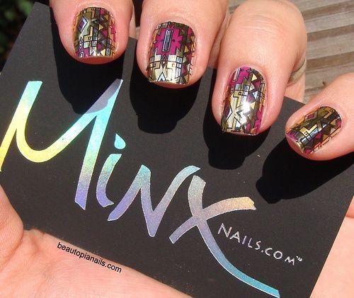 Minx-Mosaik-Nägel