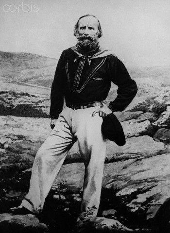 Italian Nationalist General Garibaldi - 1865 Caprera    #TuscanyAgriturismoGiratola